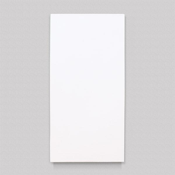 Plain finish large radiant heater panel